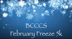 VIRTUAL February Freeze 5K Walk/Run