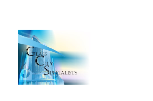 Glass City Specialists, Inc.
