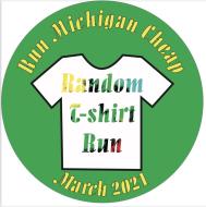 March Random T-Shirt Run - Run Michigan Cheap