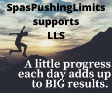 #SpasPushingLimits Supports LLS (Leukemia Lymphoma Society)