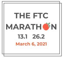 The FTC Marathon: 13.1 & 26.2