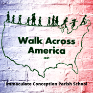 Walk Across America virtual 5k