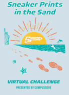 Sneaker Prints in the Sand 2021  Virtual Challenge Presented by CompuScore