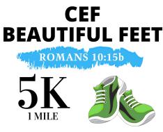 CEF Beautiful Feet 2021