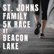 Saint Johns County Family 5k Race at Beacon Lake