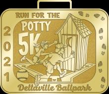 Run for the Potty!!! Virtual 5K for Deltaville Ballpark