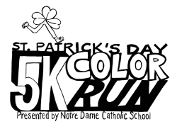 St. Patrick's Day 5k Color Run/Walk
