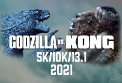 #TeamGODZILLA VS. #TeamKONG 5K/10K/13.1' VIRTUAL RUN