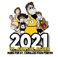 St. John the Jogger 5K & 1M Virtual Run/Walk for St. Camillus Food Pantry