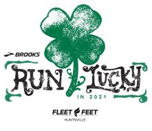 Run Lucky with Brooks & Fleet Feet 5K, 10K or 13.1 - Virtual