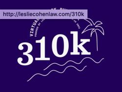 310k Virtual Run/Walk Powered by Leslie Cohen Law