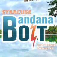 Virtual Syracuse Bandana Bolt 5K