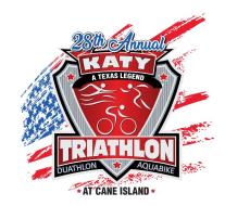 Rotary Club of Katy Triathlon at Cane Island
