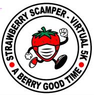 Strawberry Scamper Virtual 5k Run / Walk