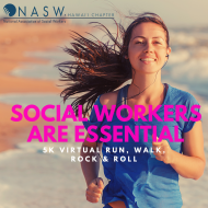 Social Workers Are Essential Virtual 5k Run, Walk, Rock & Roll