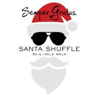 Santa Shuffle 5K & 1-Mile Fun Walk presented by Semper Gratus.