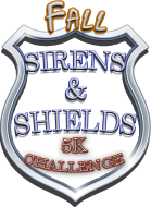 Sirens & Shields 5K