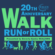 Eblen Charities 20th Anniversary Virtual Walk, Run or Roll