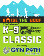 """32nd K-9 Classic """"Raise the Woof"""" Hybrid Event"""