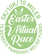 Easter Virtual Race 5K/10K/10 Miler to Benefit Pandemic Relief Funds