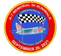 Inaugural A-7 Memorial 5K Run/Walk (Virtual)