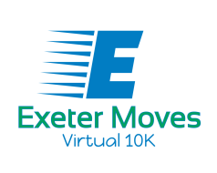 Exeter Moves Virtual 10K Run, Walk, or Ride Challenge