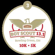 BOY SCOUT HALF MARATHON, 1OK & TENDERFOOT 5K