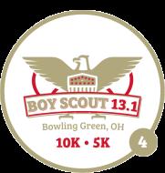 Boy Scout Half Marathon, 10K, & 5k