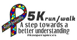 Autism Awareness First Steps 5k
