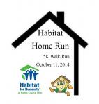 Habitat Home Run 2014 - 5K Walk/Run