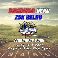 American Hero 25K, 5K and Relay and 400 Meter Dash