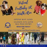 Zeta Phi Sigma Furbaby Virtual  5K Run/Walk