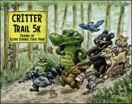 Critter Trail 5k Run/Walk @ Silver Springs State Park - Florida