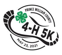 PWC 4-H HYBRID 5k                                           and 1 MILE FUN-RUN