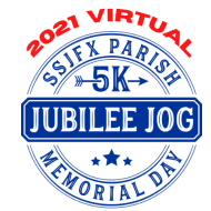 2021 VIRTUAL SSJFX Jubilee Jog 5K