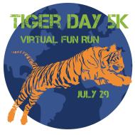 Tiger Day 5K - Virtual Fun Run