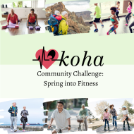 Koha Community Challenge: Virtual Spring into Fitness