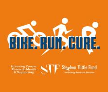 Bike. Run. Cure.