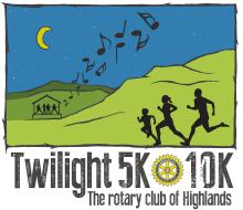 Highlands Twilight 5K & 10K August 14th, 2021