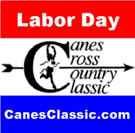 25th Annual Canes Cross Country Classic 5K & 1K