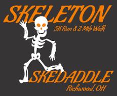 Skeleton Skedaddle 5k