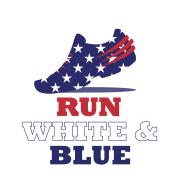 Staley RUN White & Blue