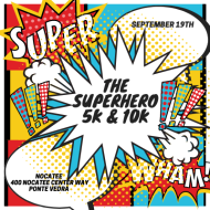 The SuperHero 5k and 10k Races