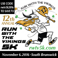 12th Annual Run with the Vikings 5K & 1 Mile Fun Run