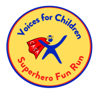 Voices for Children Superhero Fun Run