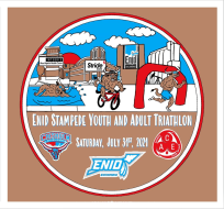 Enid Stampede Youth and Adult Triathlon