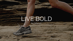 Live Bold Be Different Spring 2021 VIRTUAL Challenge 5K