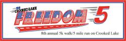 Crooked Lake Freedom 5 (5k walk/5 mile run)  2021