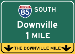 The Downville Mile