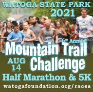 2021 Watoga SP Mountain Trail Challenge Half Marathon and 5k